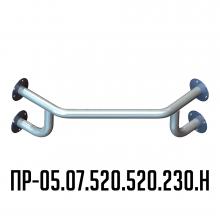 Поручень для инвалидов Инва для раковины угловой ПР-05.07.520.520.230.Н