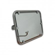 Зеркало поворотное откидное с регулируемым углом наклона 600х400 мм