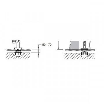 База для установки смесителя Jacob Delafon Stillness 97906D-NF