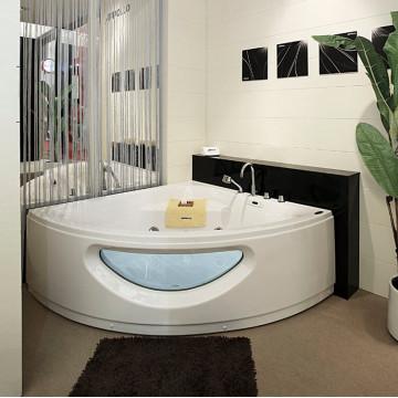 Акриловая ванна Appollo АT-9018C 150х150х64 с гидромассажем