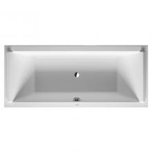Акриловая ванна Duravit STARCK NEW 180x80x46 700338000000000