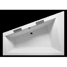 Акриловая ванна Riho Doppio арт. BA9000500000000, 180x130 см, правая