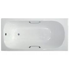 Чугунная ванна Roca Continental 211507001 100х70 с ручками для ванны