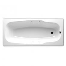 Стальная ванна BLB Atlantica B80J HG 180х80 утолщенная с отверстиями под ручки
