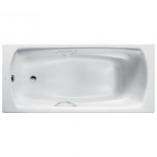 Стальная ванна Roca Swing 170x75 2201E0000 с отверстиями под ручки