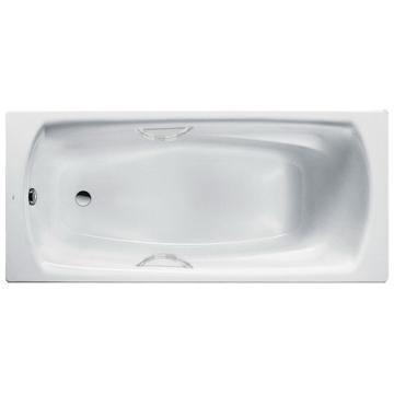 Стальная ванна Roca Swing 180x80 2200E0000 с ручками и с ножками в комплекте