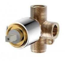 Скрытая часть встраиваемого смесителя (1-функц) Bravat D999CP-RUS
