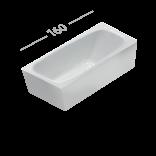 Ванна акриловая 160