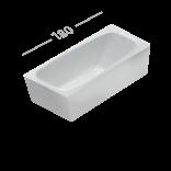 Ванна акриловая 180