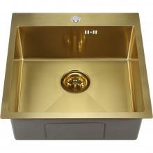 Мойка кухонная Melana ProfLine D5050HG сатин золото