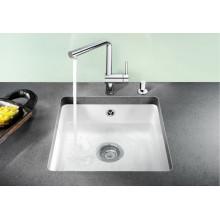 Кухонная мойка Blanco Subline 375-U Ceramic PuraPlus без клапана автомата