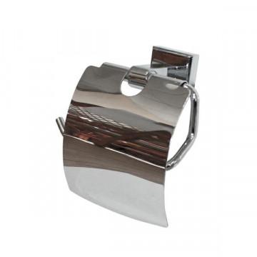 Держатель для туалетной бумаги Радомир Стронг, хром