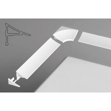 Комплект декоративных планок для ванн Ravak для уплотнения зазора до 11 мм