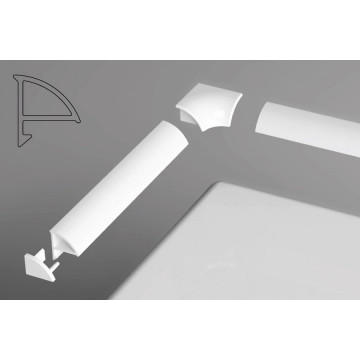 Комплект декоративных планок для ванн Ravak для уплотнения зазора до 6 мм
