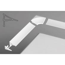 Комплект декоративных планок для угловых ванн Ravak для уплотнения зазора до 11 мм