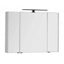 Зеркало-шкаф Aquanet Латина 100 белый 179636