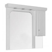 Зеркало-шкаф Aquanet Фредерика 125 00182012
