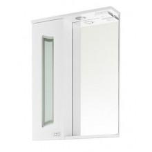 Зеркало-шкаф Vod-ok Адам С 55 шкаф слева