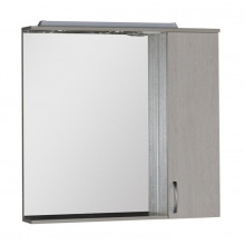 Зеркало-шкаф Aquanet Донна 90 белый дуб 169178