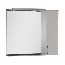 Зеркало-шкаф Aquanet Донна 100 белый дуб 169184