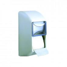 Диспенсер для туалетной бумаги двойной Nofer 05099.W белый