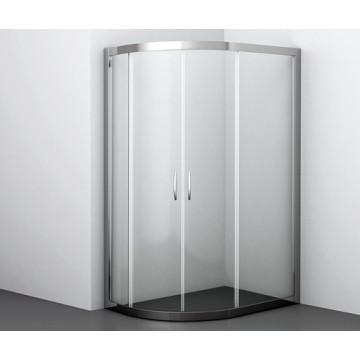 Душевой уголок WasserKRAFT Isen 26S24 прямоугольник с округлым углом 120х90х190см с раздвижными дверьми