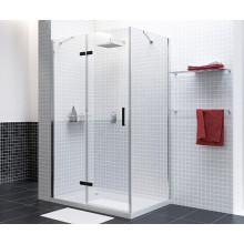 Душевой уголок WasserKRAFT Aller 10H06LBLACK MATT прямоугольник 120х80х200, с левой распашной дверью