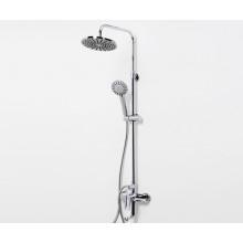 A16601 Душевая система со смесителем WasserKRAFT для ванны, 85/120 x 53,5 см