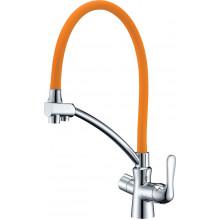 Смеситель Lemark Comfort LM3070C Orange для кухни
