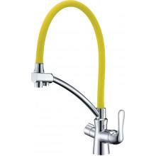 Смеситель Lemark Comfort LM3070C Yellow для кухни