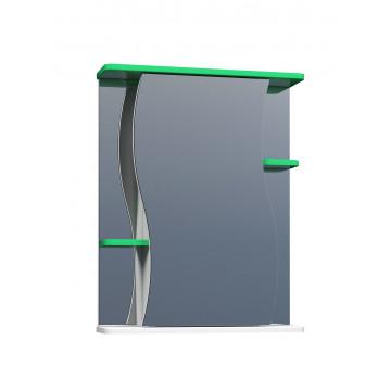 Шкаф зеркальный Vigo Alessandro 3 - 550 зеленый