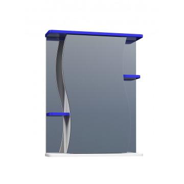 Шкаф зеркальный Vigo Alessandro 3 - 550 Синий