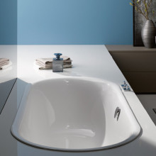 Стальная ванна Bette Lux Oval 3467-000 AD 190x90