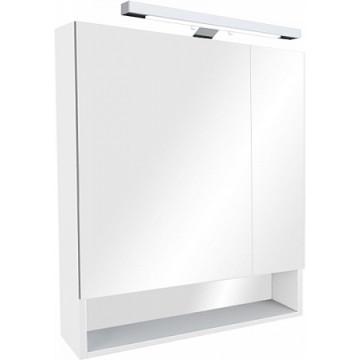 Зеркальный шкаф Roca The Gap 70 ZRU9302886 белый глянец