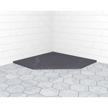 Поддон душевой RGW Stone Tray ST/T-0099G серый