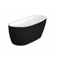 Акриловая ванна Excellent Comfort+  175x74 см, черная