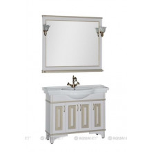Комплект мебели Aquanet Валенса 110 белый краколет/золото 182922