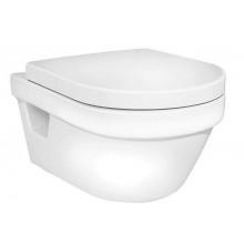 Навесной | подвесной  унитаз Gustavsberg Hygienic Flush WWS 5G84HR01 безободковый