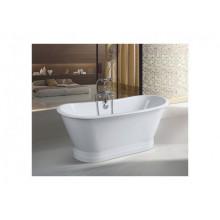 Чугунная ванна Sharking SW-1002B 170x68 (с белой декоративной панелью) 208552