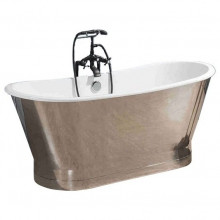 Чугунная ванна Sharking SW-1002A 170x68 (с глянцевой декоративной панелью) 208550