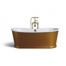 Чугунная ванна Sharking SW-1012A 170x75 (с декоративной панелью в золоте) 208560