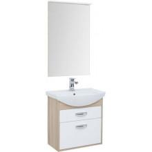 Комплект мебели Aquanet Грейс 65 дуб сонома/белый 198809