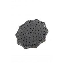 Верхний душ Milacio MC.002.BBR, чёрная бронза ( цветок )