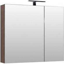 Зеркало-шкаф Aquanet Нью-Йорк 100 орех 203955