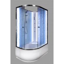 Душевая кабина Deto EM 4512 R N с LED-подсветкой и гидромассажем