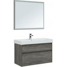 Комплект мебели Aquanet Nova Lite 100 дуб рошелье (2 ящика) 243231