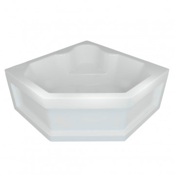 Акриловая ванна Aquatek   Акватек Лира 148х148 без гидромассажа