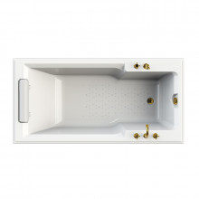 Акриловая ванна Радомир Fra Grande Руссильон бронза 4-01-4-0-1-423