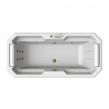 Гидромассажная ванна Радомир Fra Grande Фернандо, форсунки бронза 4-01-4-0-0-422