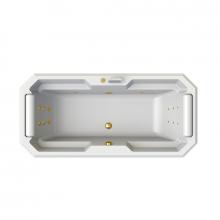 Гидромассажная ванна Радомир Fra Grande Фернандо, форсунки золото 4-01-3-0-0-422